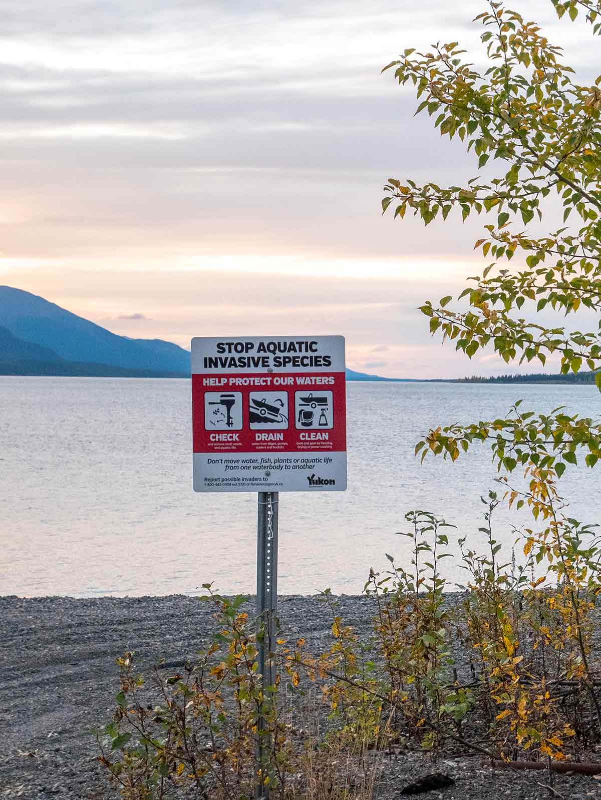 boatlaunch sign