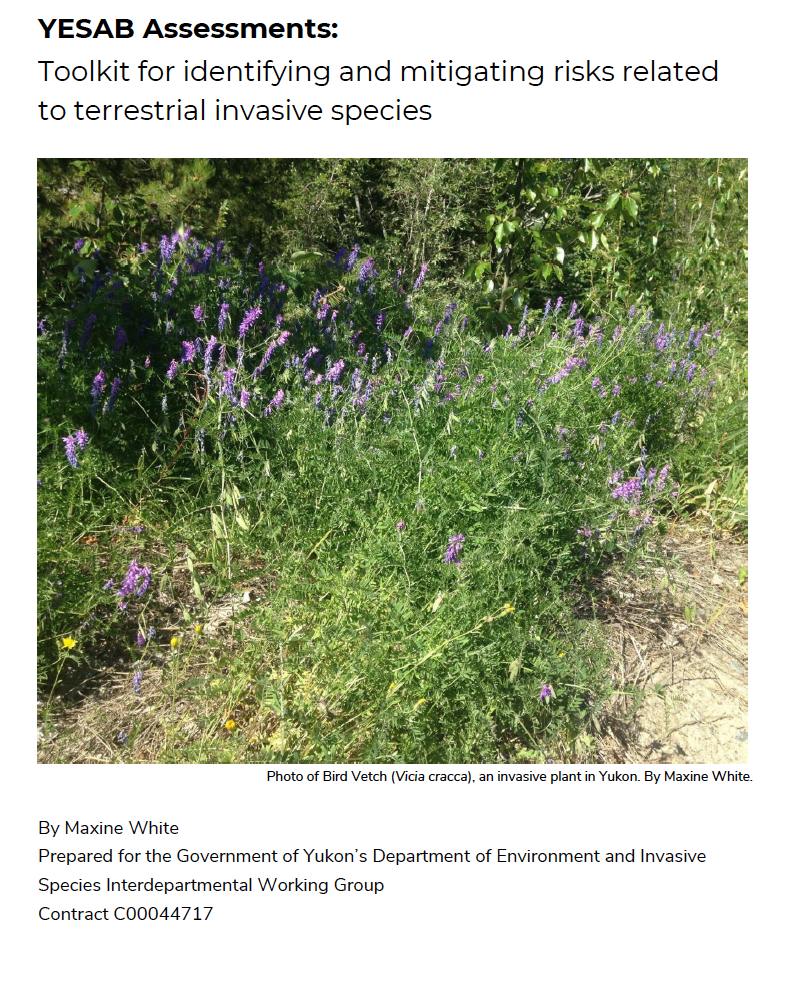 YESAB Invasive Species Toolkit 2019