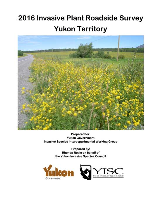 2016 Invasive Plant Roadside Survey