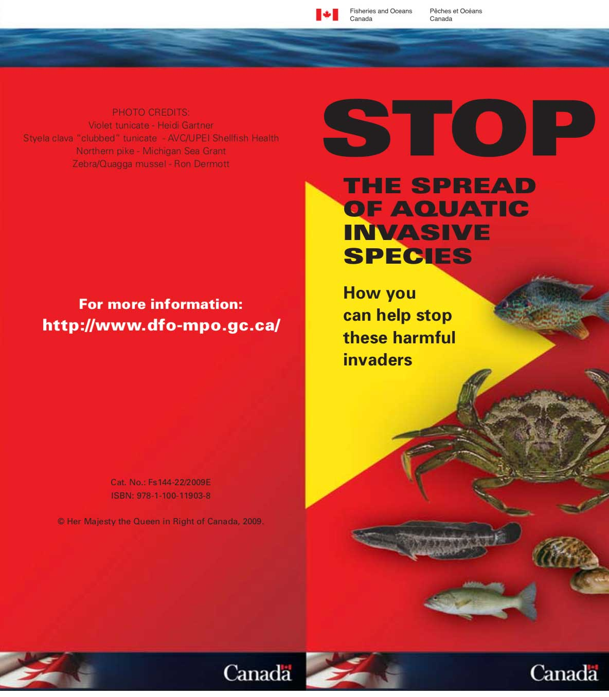 Stop the Spread of Aquatic Invasive Species